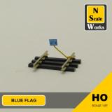 Blue Flag Sign